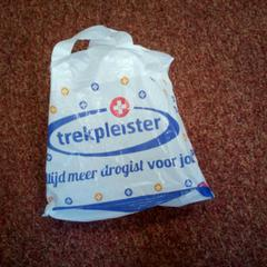 Plastic tasje, as reported by Arriva West-Brabant using iLost