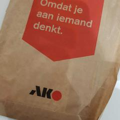 Pakketje Ako, as reported by allGo Almere using iLost