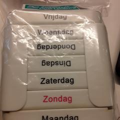 Medicatiehouder week, zoals gemeld door Ziekenhuis Oost-Limburg met iLost