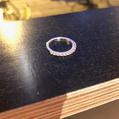 Silver ring, zoals gemeld door Conscious Hotel Westerpark met iLost