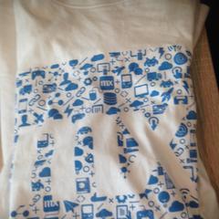 T shirt, ha sido reportado por Van der Valk Hotel Veenendaal usando iLost