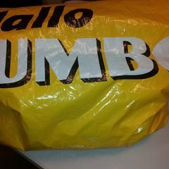 Plastic tas Jumbo, as reported by Syntus Midden-Overijssel using iLost