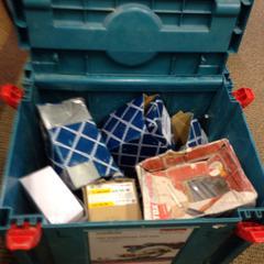 Nikita box met inhoud, as reported by Gemeente Hilversum using iLost
