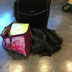 Koffer, weekendtas en plastic tas, conforme relatado por Gemeente Amsterdam usando o iLost