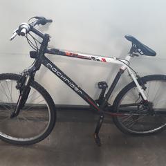 Mountainbike Rockrider zwart wit, zoals gemeld door Gemeente Heusden met iLost