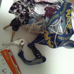 Handtasje, gerapporteerd met iLost