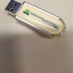 USB stick, zoals gemeld door Vrije Universiteit Amsterdam met iLost