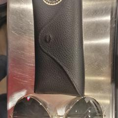 Ray Ban sunglasses + case, as reported by MEININGER Hotel Bruxelles Gare du Midi using iLost