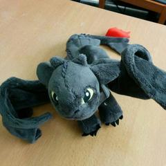 Vleermuis /  Bat toy