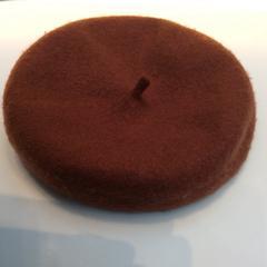 Bruine vilt hoed, zoals gemeld door Rijksmuseum met iLost