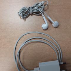 iPhone oplader + oordopjes, zoals gemeld door Arriva Vechtdallijnen met iLost