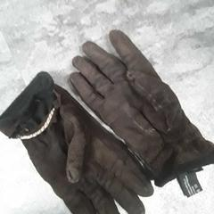Handschoenen donkerbruin, rapporterat av Arriva Friesland / Groningen med iLost
