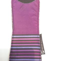 Glasses cover, purple/brillenhoesje paars