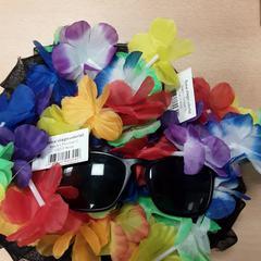 Hoedje + hawai slinger + zonnebril, as reported by Arriva Vechtdallijnen using iLost