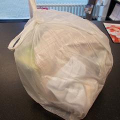 plastic tas, zoals gemeld door Syntus Twente met iLost