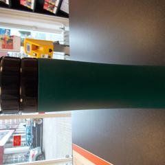 fles fexibele drinkfles groen  met zwarte dop