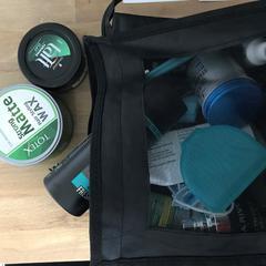 Kosmetik Tasche Man, som rapportert av MEININGER Hotel Berlin Tiergarten ved bruk av iLost