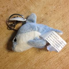 Sleutelhanger knuffel, as reported by Dolfinarium using iLost