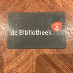 Bibliotheekpas, as reported by Pathé Haarlem using iLost