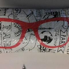 Brillenkoker met bril, as reported by Connexxion Valleilijn using iLost