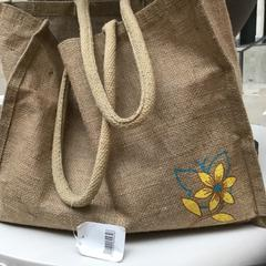 Canvas tas met inhoud. Canvas bag with content., as reported by Rijksmuseum using iLost