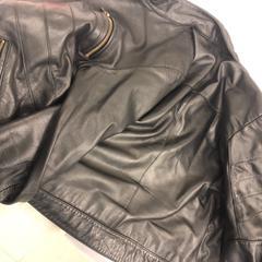 Leren jacket, zoals gemeld door Grand Hotel Amrath Kurhaus met iLost