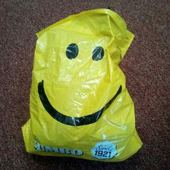 Plastic zak, as reported by Arriva West-Brabant using iLost