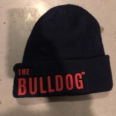 Donkerblauwe muts The Bulldog, as reported by Awakenings New Year Specials 2019 using iLost