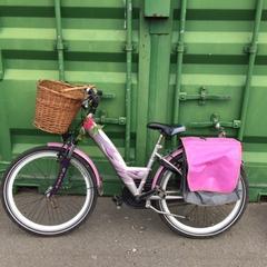 kinderfiets merk alpina girl power kleur paars, as reported by Gemeente Brummen using iLost