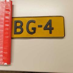 Nummerbord, zoals gemeld door Gemeente Wijk bij Duurstede met iLost