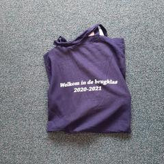 blauwe linnen tas, as reported by Connexxion Overijssel/Flevoland-IJsselmond using iLost