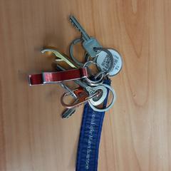 sleutels met label van de marechaussee, ha sido reportado por Connexxion Overijssel / Flevoland-IJsselmond con iLost