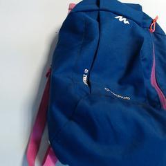 Sac à dos bleu et rose, a été signalé par Agence Azalys utilisant iLost