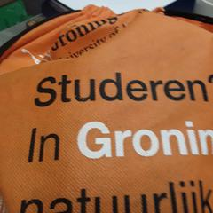 Tas oranje, as reported by Arriva Friesland / Groningen using iLost