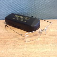 Brillenkoker met bril