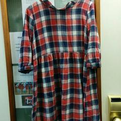 Geruite jurk/dress