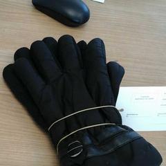 Zwarte handschoenen, zoals gemeld door Connexxion Haarlem AML met iLost