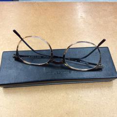Moleskine leesbril met brillencase, zoals gemeld door IKEA Zwolle met iLost