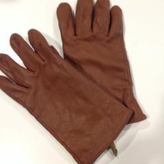 Bruine handschoenen, as reported by RAI Amsterdam using iLost