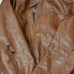 Bruine leren jas, zoals gemeld door De Heeren van Aemstel met iLost