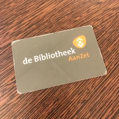 Bibliotheekpas, as reported by Pathé Breda using iLost