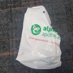 Plastic tasje diverse voorwerpen, as reported by Connexxion Amstelland-Meerlanden Schiphol Zuid using iLost