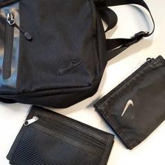 Tasje Nike met portemonnees zwart, zoals gemeld door Gemeente Heusden met iLost