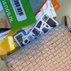 Roze portemonnee, zoals gemeld door Gemeente Hilversum met iLost