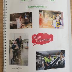 Beroepen orientatie boek, zoals gemeld door Connexxion Amstelland-Meerlanden Schiphol Zuid met iLost
