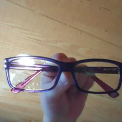 Purple / Maroon glasses, as reported by Holland Ridge Farms using iLost