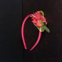 Haarband roze met bloem, gemeldet von Apenheul über iLost