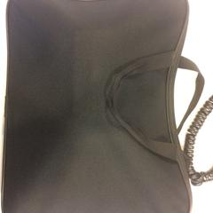 Black laptop bag without laptop, as reported by RAI Amsterdam using iLost