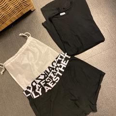 Boxershorts en zwart t shirt, zoals gemeld door Grand Hotel Amrath Kurhaus met iLost