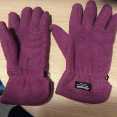 "Purple gloves, as reported by MEININGER Hotel Berlin ""Mitte"" Humboldthaus using iLost"